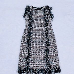 Chanel Style Gorgeous Tweed Dress**XS + Small